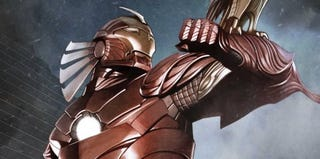 Illustration for article titled Iron Man Gets Numerous Overhauls Before He Sells Out