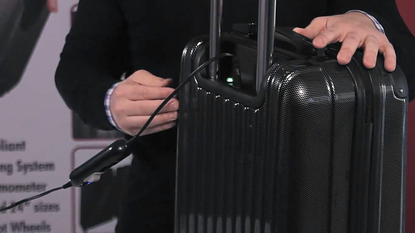 Heating Elements Inside this Suitcase Kill Stowaway Bed Bugs