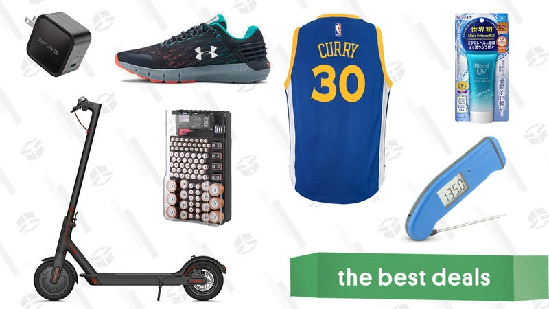 Illustration for article titled Tuesday's Best Deals: Readers' Favorite VPN, Fanatics Gear, Japanese Sunscreen, and More