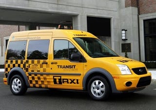 Illustration for article titled Ford Transit Connect Taxi: Say Hello To The Next NYC Cab