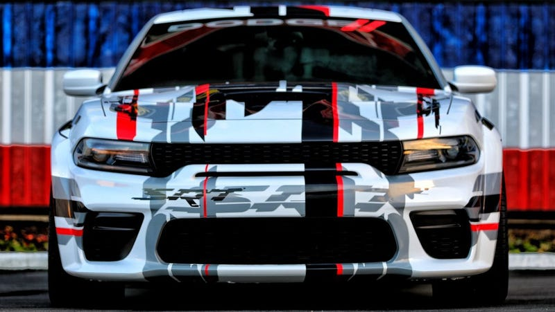 Illustration for article titled Dodge Built a Widebody Charger Because That's Just What It Does