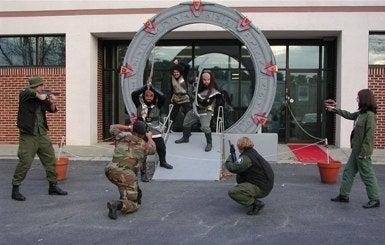 Illustration for article titled The Stargate Universe Team Assembles