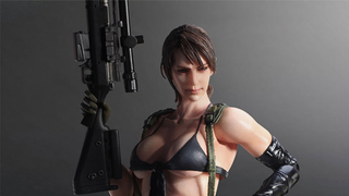 Illustration for article titled Hideo Kojima Shows off Metal Gear Figure With Soft Boobs