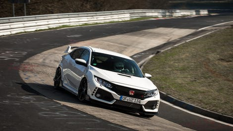 The 2018 Honda Civic Type R Is New Front Wheel Drive Nürburgring King