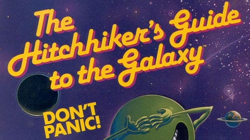 Illustration for article titled The Hitchhiker's Guide To The Galaxy
