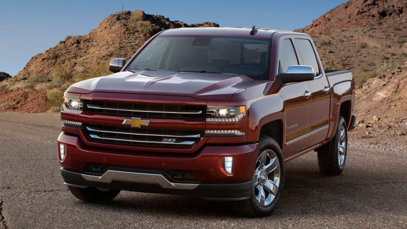 Illustration for article titled 2016 Silverado ….. ehhhhh