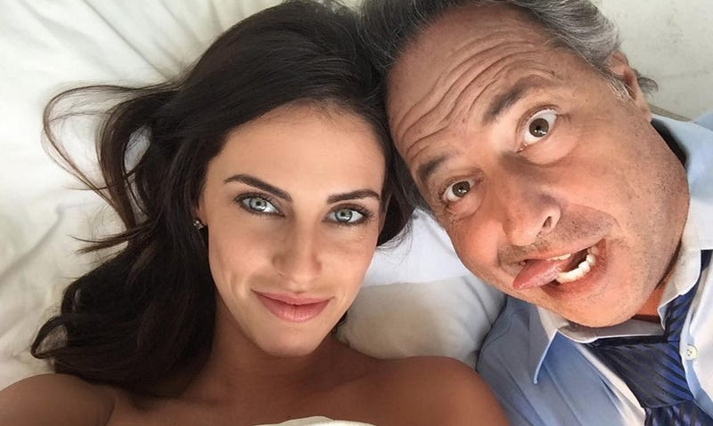 Illustration for article titled Jon Lovitz on Fake Dating Jessica Lowndes: 'Younger Women Like Me...and I Have a Big Stick'