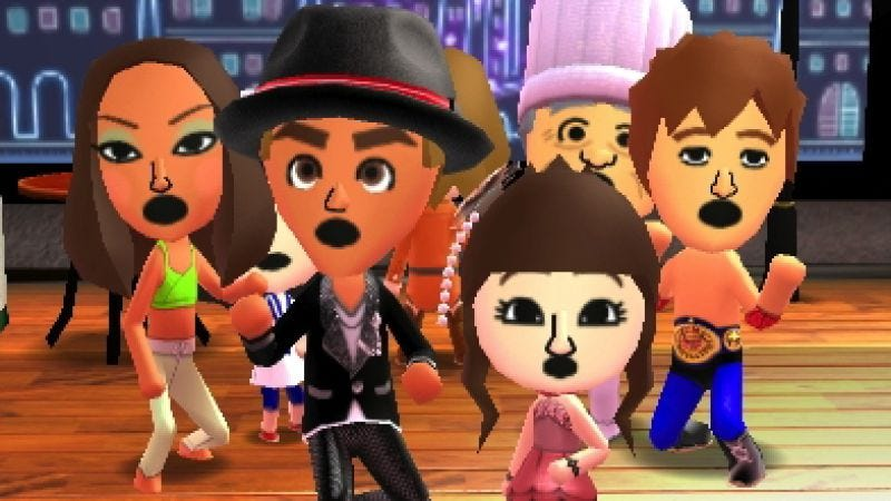 Illustration for article titled Tomodachi Life is a dizzy chaos of spring rolls, hats, and rap battles