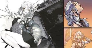 Illustration for article titled Nier Art: An East vs. West Comparison
