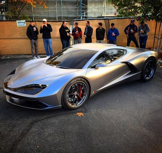 """Fast Eddy"" Mid-Engined Corvette Concept by Aria Group"