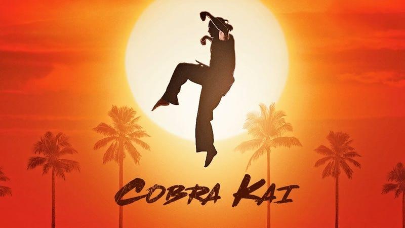 Illustration for article titled El tráiler de Cobra Kai muestra por fin algo de acción por parte de los protagonistas de Karate Kid