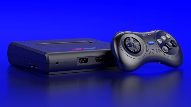 The Guys Behind the Best NES and SNES Clones Have Built the Ultimate Sega Console