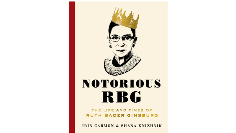 Illustration for article titled Here's Your First Look at the Cover ofNotorious RBG