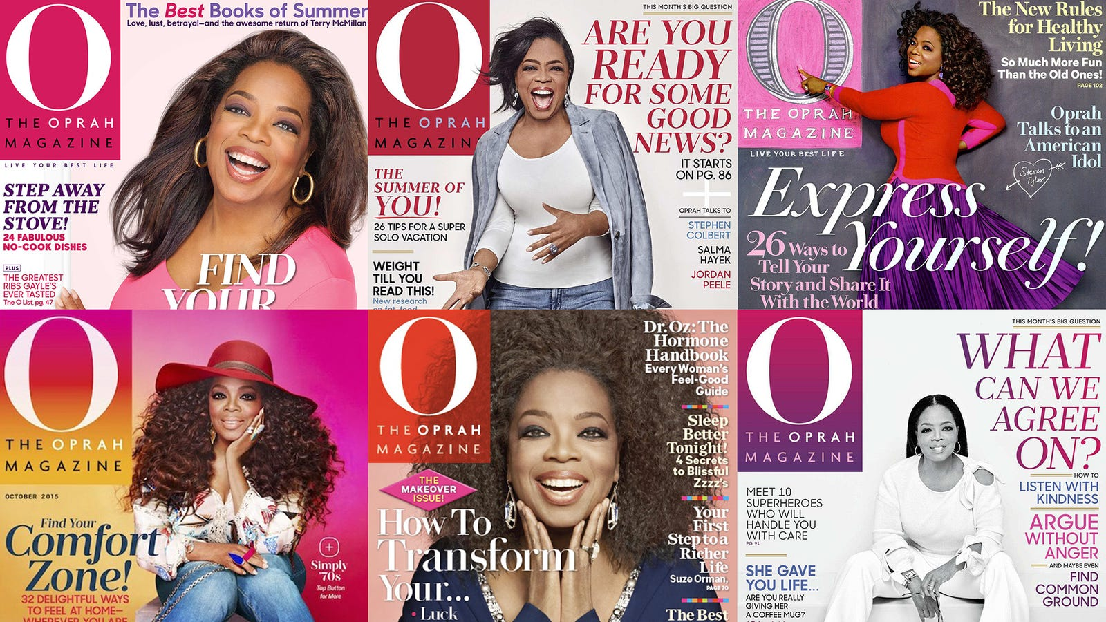 Oprah Winfrey Breaks Record For Most Appearances On The Cover Of 'O Magazine'
