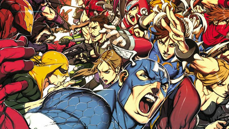 Illustration for article titled The Most Amazing Collection of Marvel Vs. Capcom Art the World Has Ever Seen