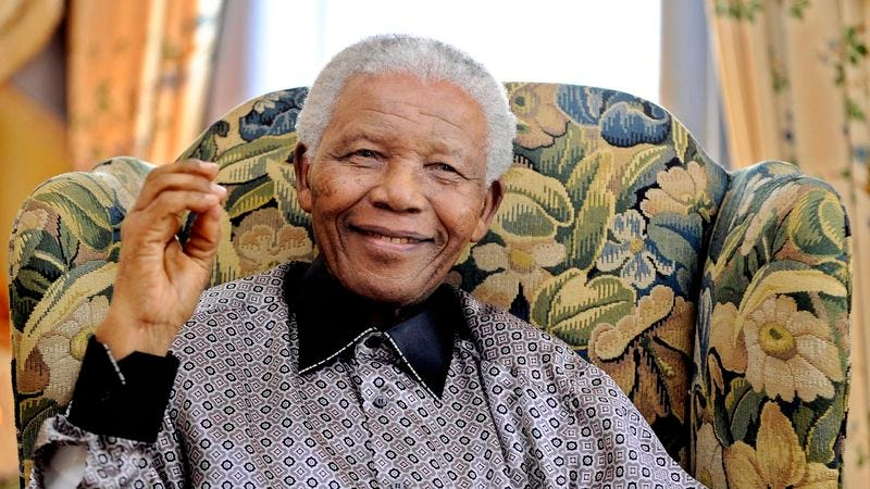 Illustration for article titled Nelson Mandela Becomes First Politician To Be Missed