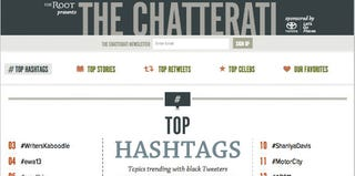 The Chatterati page