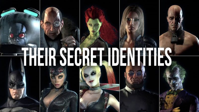 Illustration for article titled The Voice Actors of Batman: Arkham City, Unmasked