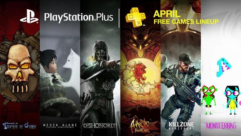 Illustration for article titled Estos son los juegos que Sony regala a los usuarios de PS Plus en abril