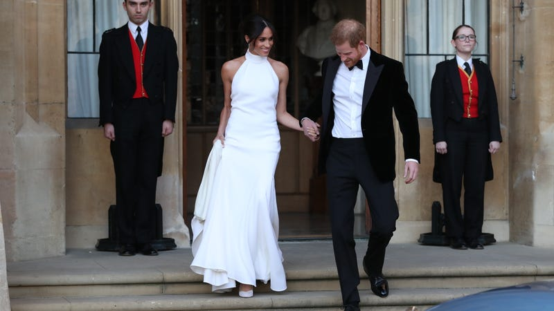 How to Get Meghan Markle\'s Wedding Reception Gown