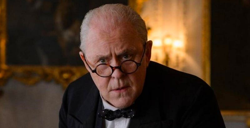 John Lithgow in one of his more recent roles on The Crown. Image: Netflix