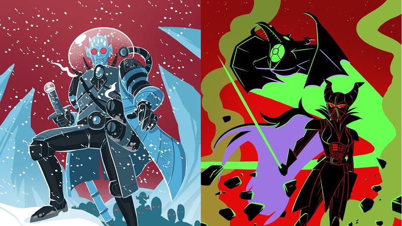 Some villainous mashups.