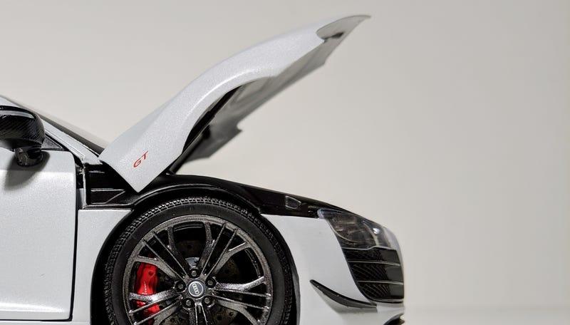 Illustration for article titled Audi R8 GT