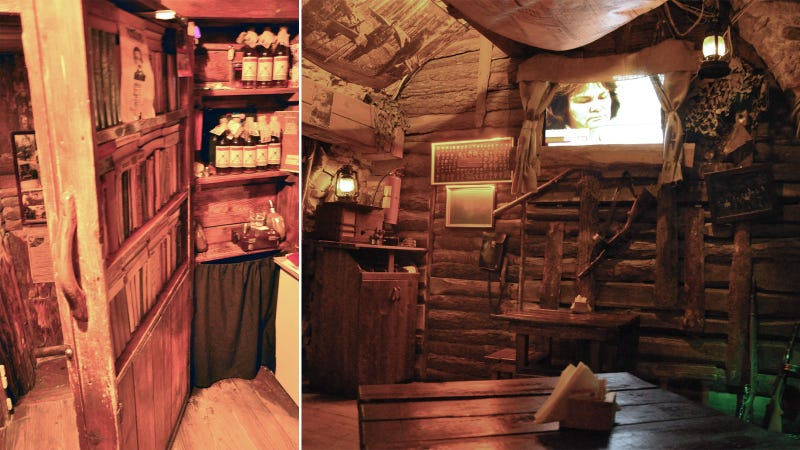 Secret Passageways and Rooms Hiding in Plain SightA hidden passageway leads to this bunker restaurant in Lviv  Ukraine  The restaurant is dedicated to the Ukrainian Insurgent Army