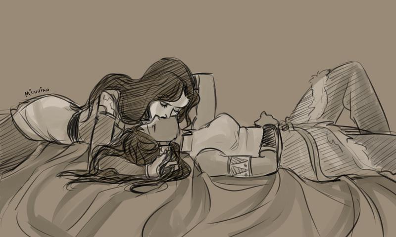 Illustration for article titled My Thoughts On Korra's Schrodinger Relationship Status