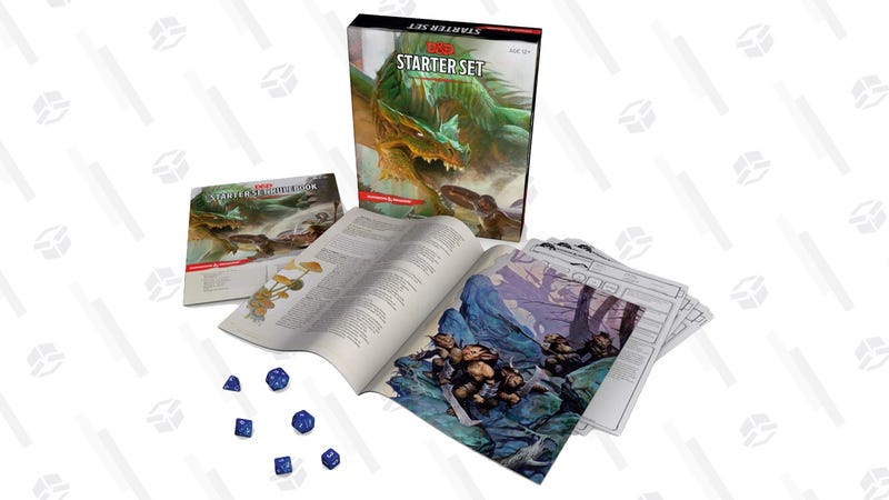 Dungeons & Dragons Starter Set | $8 | Amazon