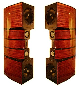 Illustration for article titled Evolution Acoustics MMthree Speakers Stand Tall with Monster Specs
