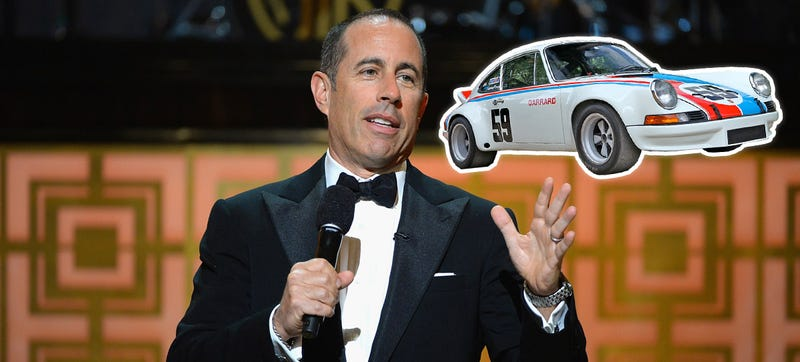 Illustration for article titled BMW Owner Hits Jerry Seinfeld's 911 RSR, Gives No Fucks