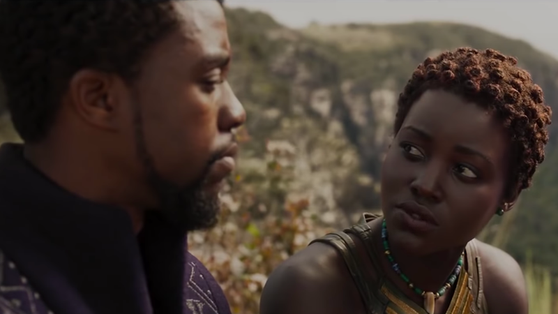 Scene from Black Panther (FilmSelect via YouTube screenshot)