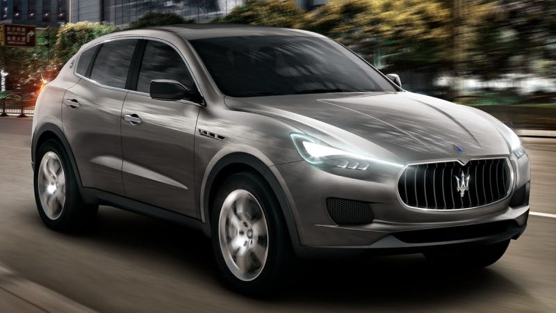 Illustration for article titled Maserati SUV Production Planned For 2015