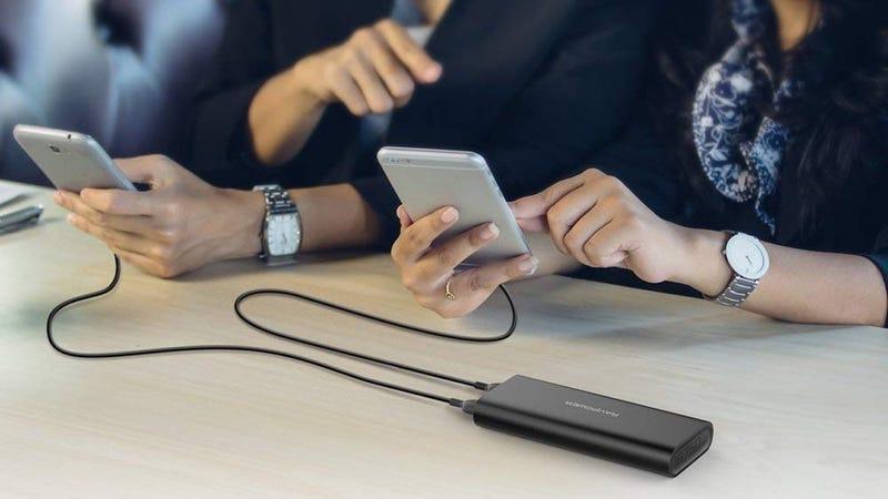 RAVPower USB 16,750mAh Battery Pack | $22 | Amazon