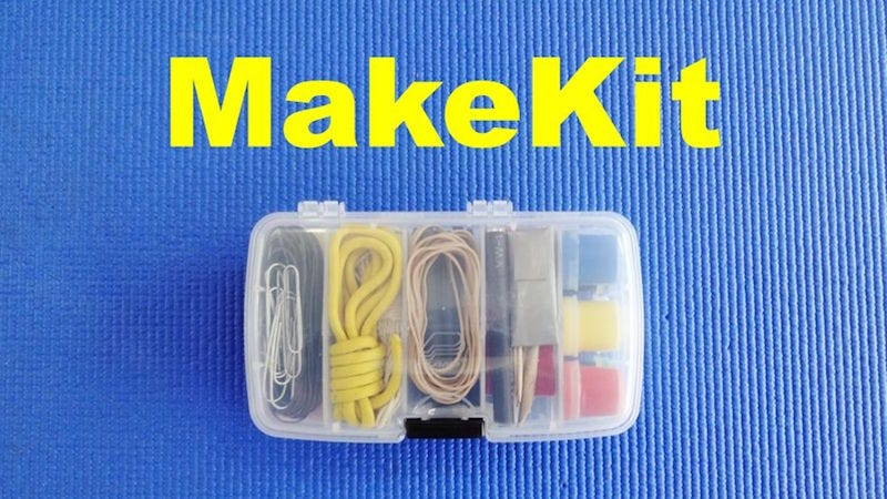 Illustration for article titled Make an On-the-Go Maker's Kit to Stave Off Boredom