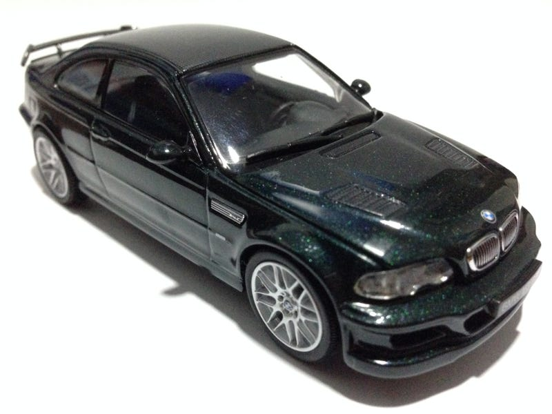 Illustration for article titled Teutonic Tuesday: Kyosho 1:43 BMW M3 GTR (Street Version)
