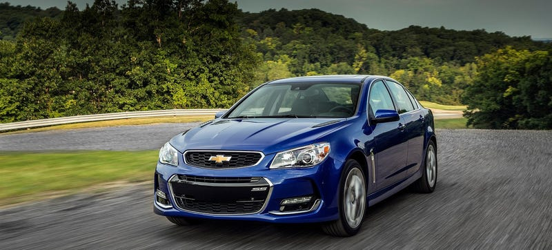 There Were A Lot Of Great Things About The Chevrolet Ss Like V8 Rear Wheel Drive Performance With Manual Gearbox In Practical Sedan Package
