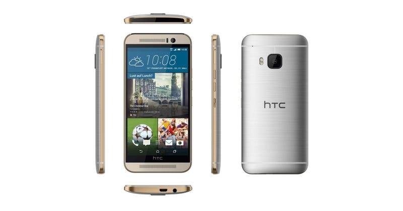 Illustration for article titled Leaked Renders Show HTC's New Flagship Phone From All Angles