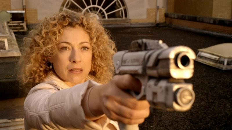 Illustration for article titled River Song will appear in the 2015 Doctor Who Christmas Special