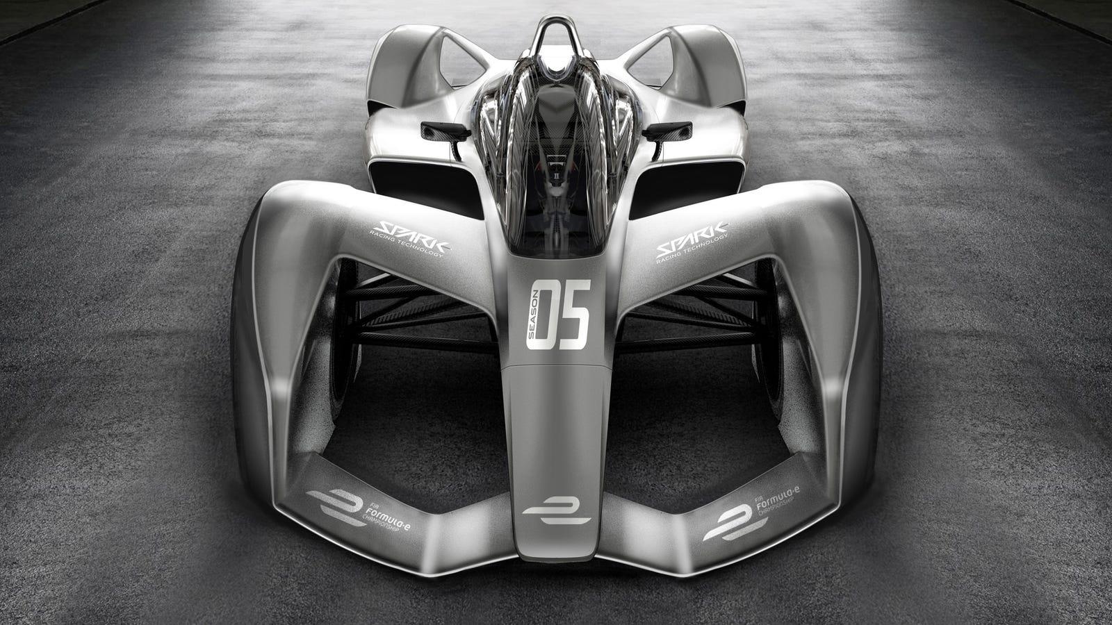 Formula e s next car looks insane