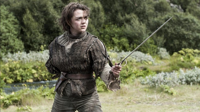 Illustration for article titled Maisie Williams, a.k.a. Arya Stark, to play a cyberbullying victim