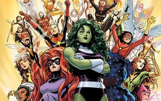 Illustration for article titled Los Vengadores ya tiene versión exclusivamente femenina: A-Force