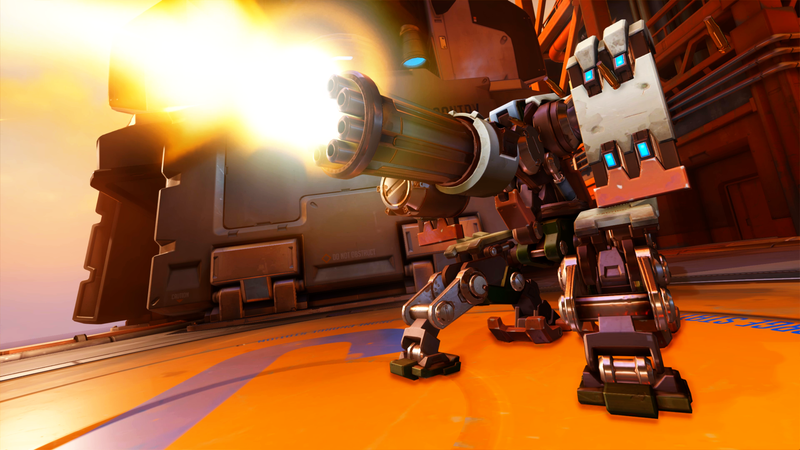 Illustration for article titled Overwatch Player Uses Bastion Cheese To Win Pro Match
