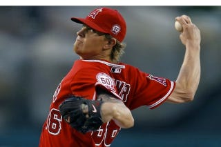 Illustration for article titled Did Everyone Notice That Jered Weaver Is The Best Pitcher In Baseball Right Now?