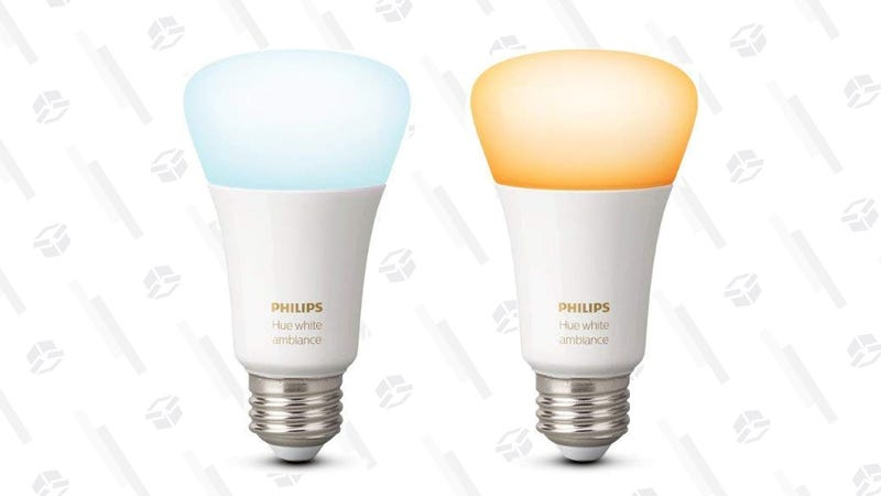 Philips Hue White Ambiance Bulb | $25 | Amazon