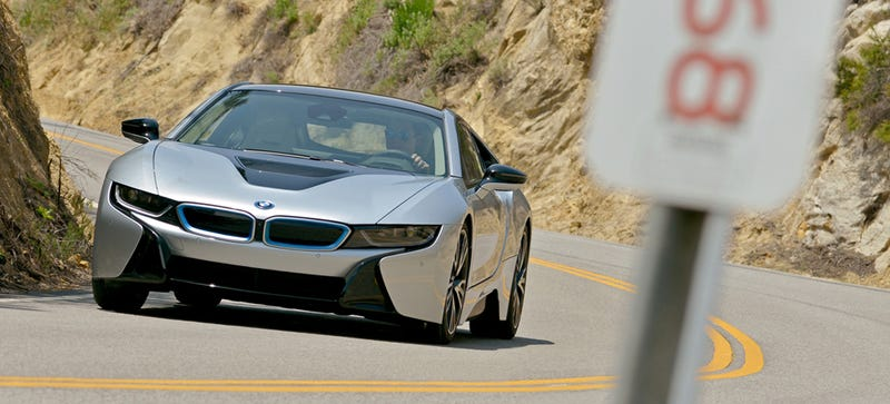 Illustration for article titled BMW Sells 3 i8s To One Rich HERO