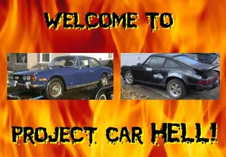Illustration for article titled Project Car Hell: Stag or 911?