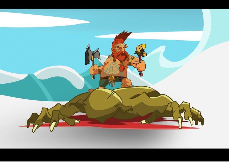 Illustration for article titled Troll Slayer