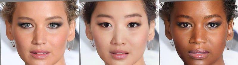 Illustration for article titled FaceApp vuelve a caer en estereotipos con cuatro filtros para cambiar la procedencia étnica de tu cara